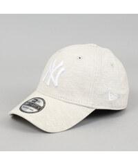 New Era 3930 Jersey Essential NY melange krémová