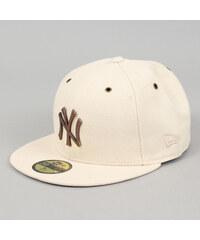 New Era 5950 Crafted MLB Metal NY krémová