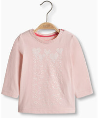 Esprit T-shirt, imprimé scintillant, 100 % coton