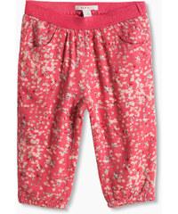 Esprit Pantalon à fleurs en jersey fluide