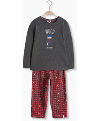 Esprit Žerzejové pyžamo z měkké bavlněné směsi
