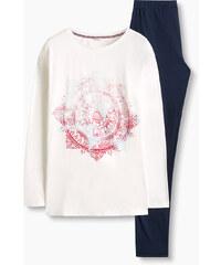 Esprit Žerzejové pyžamo ze 100% bavlny