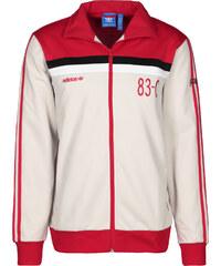 adidas 83-c veste de survêtement talc/scarlet