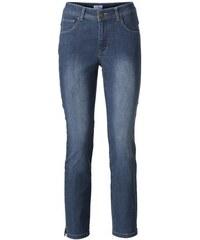 ASHLEY BROOKE Damen Bodyform-7/8-Jeans blau 34,36,38,40,42,44,46,48,50,52
