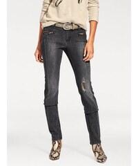 B.C. BEST CONNECTIONS by Heine Damen Skinny-Jeans schwarz 17,18,19,20,21,22,23