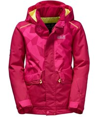 Jack Wolfskin Skijacke SNOW RIDE JACKET KIDS rot 92,104,116,128,140,152,164,176