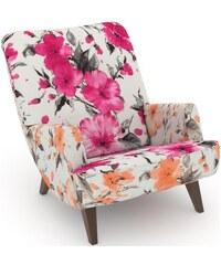 MAX WINZER build-a-chair Loungesessel Borano im Retrolook zum Selbstgestalten 251 (=Sitzfläche/Rücken: Samtvelours rosé),252 (=Sitzfläche/Rücken: Samtvelours anthrazit),254 (=Sitzfläche/Rücken: Samtve