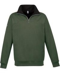 TRIGEMA Sweat-Shirt Reißverschluss TRIGEMA grün 4XL,5XL,L,M,S,XL,XXL,XXXL