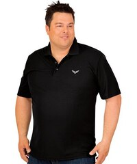 TRIGEMA Polo-Shirt COOLMAX TRIGEMA schwarz 4XL,5XL,L,M,XL,XXL,XXXL