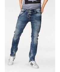 Slim-fit-Jeans (Set mit Hosenkette) Cipo & Baxx blau 29,30,31,32,33,34,36