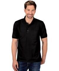TRIGEMA Polo-Shirt mit Brusttasche TRIGEMA schwarz 4XL,5XL,L,M,S,XL,XXL,XXXL