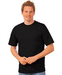TRIGEMA T-Shirt DELUXE Baumwolle TRIGEMA schwarz 4XL,5XL,L,M,S,XL,XXL,XXXL