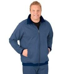 TRIGEMA Raglan-Jacke Sweat-Qualität TRIGEMA blau L,M,XL,XXL,XXXL