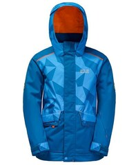 Jack Wolfskin Skijacke SNOW RIDE JACKET KIDS blau 104,128,140,152,164,176