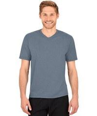 TRIGEMA TRIGEMA V-Shirt DELUXE Baumwolle grau 4XL,5XL,L,M,S,XL,XXL,XXXL