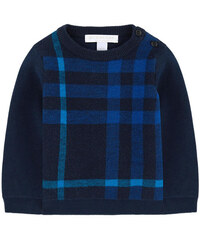 Burberry Check wool and cashmere sweater