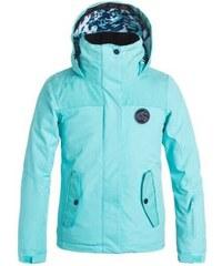 Dětská zimní bunda Roxy Jetty girl solid JK blue radiance XXL