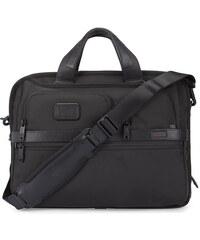 TUMI Schwarze Computertasche mit Reißverschluss Alpha 2