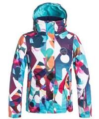 Dětská zimní bunda Roxy Jetty girl JK milo typo_bright white XL