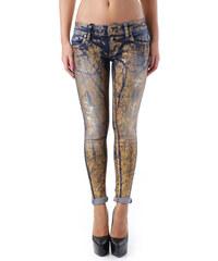 Woman Jeans Sexy Woman 68406 - XS / Zlatá