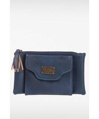 Portefeuille femme multiples poches Bleu Polyester - Femme Taille TU - Bonobo