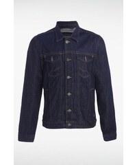Veste homme jean surcoutures Bleu Coton - Homme Taille L - Bonobo