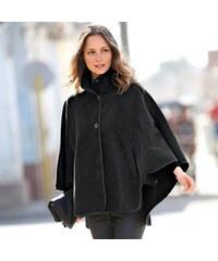 Blancheporte Kabát v plášťovém střihu šedý melír
