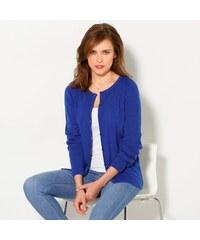 Blancheporte Žebrovaný svetr tmavě modrá