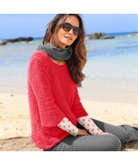 Blancheporte Jemný pulovr korálová