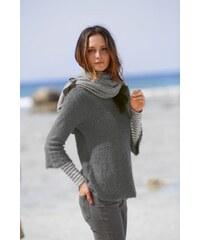 Blancheporte Jemný pulovr šedá