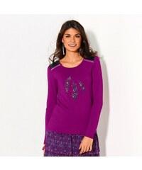 Blancheporte Tričko pírka purpurová