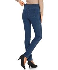 Blancheporte Pružné legínové džíny modrá