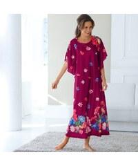 Blancheporte Domácí šaty s potiskem švestková