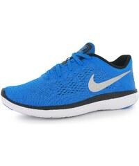 Nike Flex 2016 Run dětské Running Shoes Blue/Silver