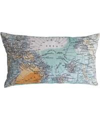 Dekokissen, Covers & Co, »North Pole«, mit Weltkarte