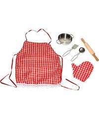 Wiky Set pro malé kuchaře - červený
