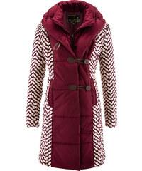 bpc selection premium Manteau matelassé imprimé rouge manches longues femme - bonprix