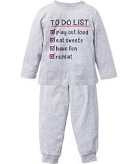 bpc bonprix collection Pyjama (Ens. 2 pces.), T. 92/98-152/158 gris lingerie - bonprix