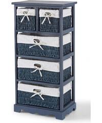 bpc living Étagère 5 tiroirs Vito, avec 5 tiroirs bleu maison - bonprix
