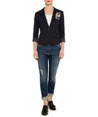 Univerzitní tmavě modrý blazer L Soccx 251266