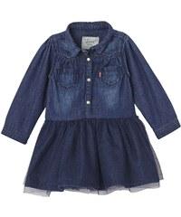 Levi's Kids Balleryn - Kleid aus zwei Materialien - jeansblau