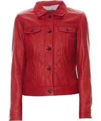 Oakwood Lucy - Veste en cuir - rouge