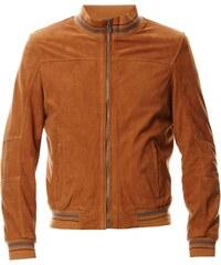Oakwood Paulo - Blouson en cuir - bronzage