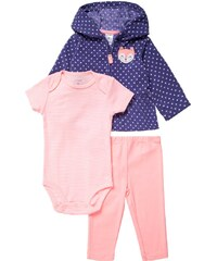 Carter´s SET Leggings Hosen purple/white