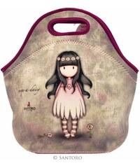 Santoro London - Neoprenová taška na jídlo - Gorjuss - Oops a Daisy