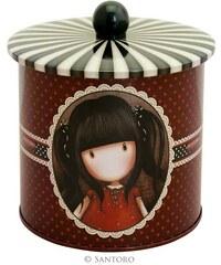 Santoro London - Plechová krabička sušenky - Gorjuss - Ruby