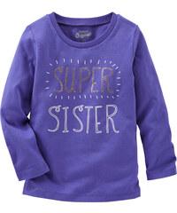 Oshkosh Dívčí tričko Super sister - fialové