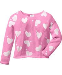 bpc bonprix collection Oversize Strickpullover langarm in rosa für Mädchen von bonprix