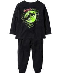 bpc bonprix collection Schlafanzug mit Halloween-Motiv in schwarz für Jungen von bonprix