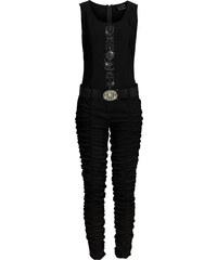 RAINBOW Jumpsuit ohne Ärmel in schwarz (Rundhals) von bonprix